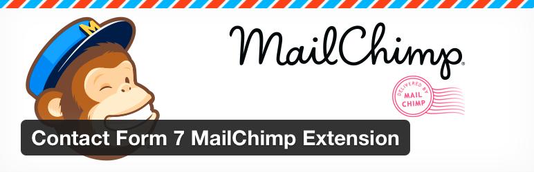 Contact Form 7 MailChimp Extension - Contact Form 7 MailChimp ...